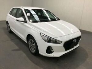 2018 Hyundai i30 PD MY18 ACTIVE White Sports Automatic Hatchback Moonah Glenorchy Area Preview