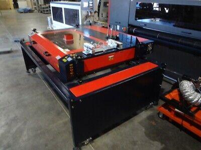Ap Lazer Sn4836 Laser Engraver Machine System Current Model 100 Watt