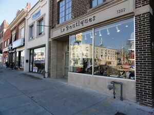 GORGEOUS RETAIL SPACE FOR LEASE - ST.CLAIR WEST!