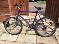 Give Mountain Bike/bicycle