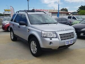 2009 Land Rover Freelander 2 LF 09MY Td4 SE Silver 6 Speed Sports Automatic Wagon St James Victoria Park Area Preview