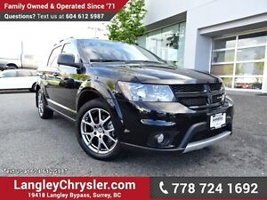 2016 Dodge Journey R/T ACCIDENT FREE w/ ALL-WHEEL DRIVE, LEAT...