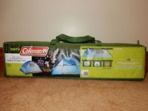 Coleman 2 Person Outbound Youth Tent. Was never used.