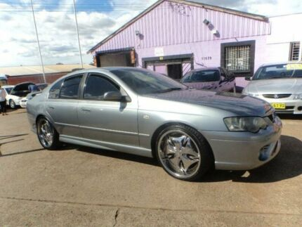 2003 Ford Falcon BA XR6 Silver 5 Speed Manual Sedan North St Marys Penrith Area Preview