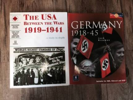 The USA between the Wars******1941 and Germany 1918-45 Kenwick Gosnells Area Preview