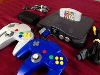 Looking for a Nintendo 64 Bundle, or just games & controllers