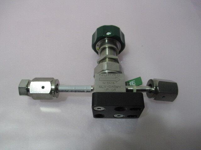 Nupro 6LV-DABW4-P-GR, Shutoff Valve, Insync Systems 914115-001-1, Panels, 415412