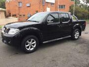 2014 Nissan Navara D40 MY12 ST (4x4) Black 5 Speed Automatic Dual Cab Pick-up Granville Parramatta Area Preview