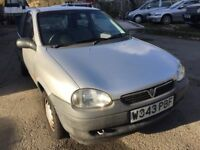 Cheap car of the day, Vauxhall Corsa, starts and drives, MOT until 17th December, hence price, 93,00