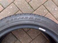 "Bargain 235/45/19"" Pirelli P Zero Part Worn Tyre 4.85mm"