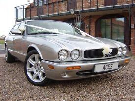 """Jaguar 18"""" Flute 7 Spoke Alloy Wheels with tyres. Fits XK, XK8, XKR, XJ, XJ8, X300 & X308"""