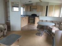 £ bed, DG & CH Caravan, Sited on 12 month park with facilities & sea views