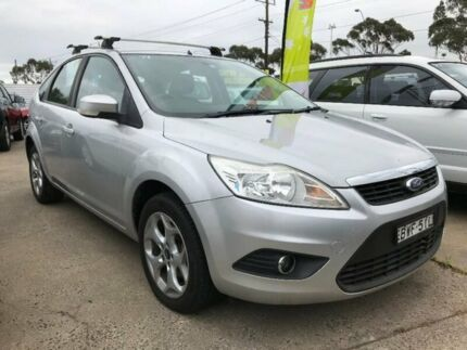 2010 Ford Focus LV Mk II LX Silver 4 Speed Sports Automatic Hatchback Maidstone Maribyrnong Area Preview