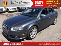 2007 AUDI S4 6SPEED MANUAL SEDAN QUATTRO AWD V8 90DAY NO PAYMENT