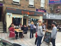 Part-time Cafe Staff Wanted - Daytime Weekdays, Shawlands, Glasgow