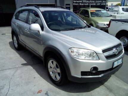 2010 4x4 Turbo Diesel 7 Seat Auto Holden Captiva New Town Hobart City Preview