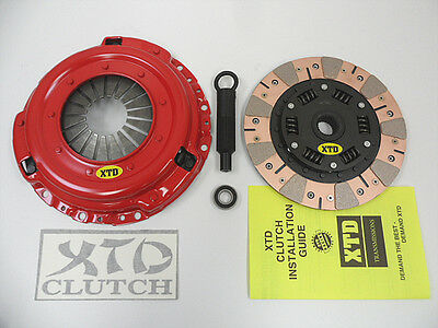 XTD STAGE 3 DUAL FRICTION CLUTCH KIT 99-00 CIVIC Si DEL SOL Si B16A2 - Dual Friction Clutch Kit