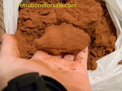2 lbs PetroBond Oil bonded  Foundry Sand delft clay alternative free shpping