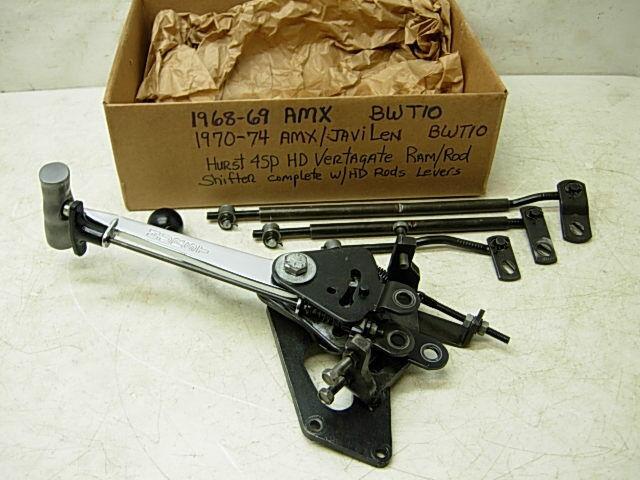 hurst ram rod shifter instructions