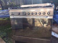 Smeg Dual Fuel Range oven