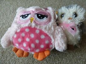 Soft Owl Toys