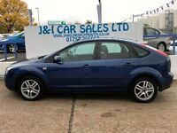FORD FOCUS 1.6 STYLE TDCI 5d 107 BHP ALLOY WHEEL UPGRADE (blue) 2008