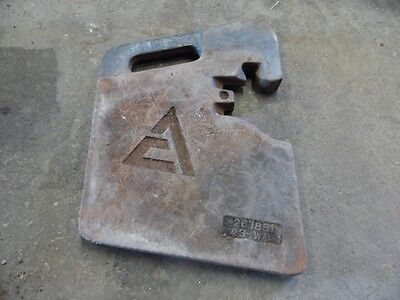 Allis-chalmers 64 Lb Weights Multiple Available 267881-03-wa1 Tag 701