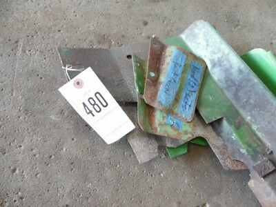 John Deere 2 Cylinder Tractor Heat Shields 2 Small Shields Tag 480