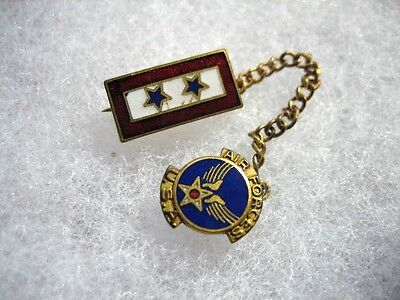WWII Air Corps Two Star Sons in Service Pin