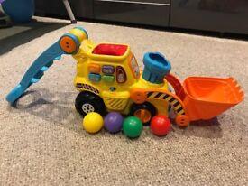 VTech Pop And Drop Digger Toy Toddler