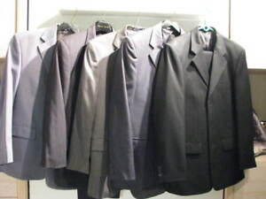 Suits - 38R, 38S T Hilfiger, Cigliano, J & Feiss, etc.  $35 each