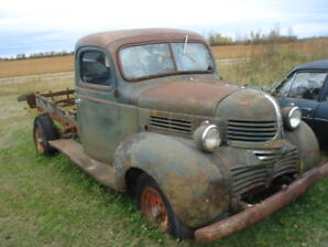 1939 Dodge Truck Cab and Chassis, 6cyl/4spd  $2450