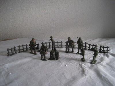 Set verschiedene alte Soldaten