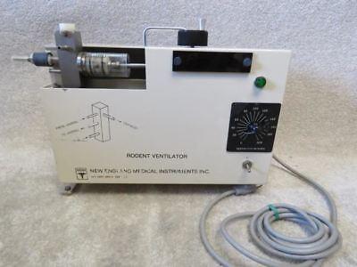 New England Medical Instruments Rodent Small Animal Ventilator Respirator Model