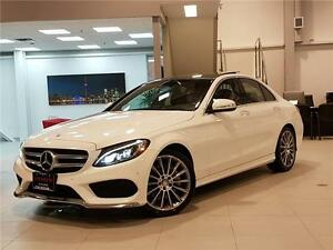 2015 Mercedes-Benz C-Class C400 4MATIC-AMG-LOADED