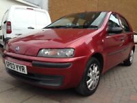 cheap first car low insurance and great mileage fiat punto!