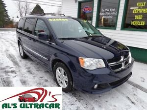 2016 Dodge Grand Caravan Crew only $204 bi-weekly all in!