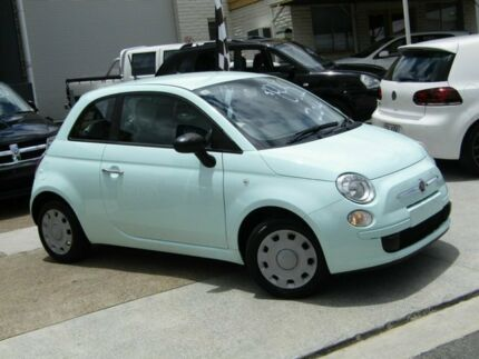 2014 Fiat 500 Series 1 POP Green 5 Speed Manual Hatchback Moorooka Brisbane South West Preview