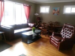 2 bedroom furnished house available Sept to Dec West Broadway