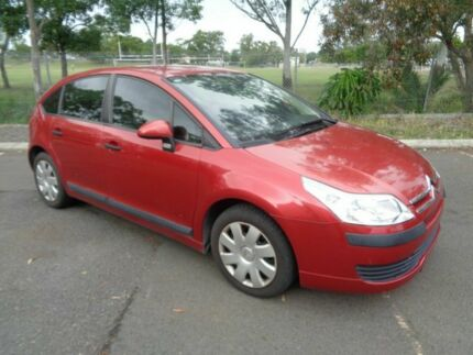 2006 Citroen C4 VTR Red 5 Speed Manual Hatchback Clontarf Redcliffe Area Preview