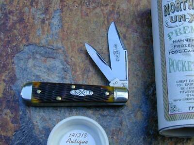 GREAT EASTERN GEC NORTHFIELD ANTIQUE YELLOW BOYS KNIFE RARE 1/244 MIT 141218