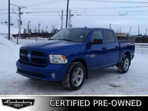 2017 Ram 1500 4WD CREWCAB EXPRESS Accident Free,  Bluetooth,  A/