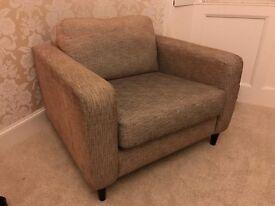 Mid Century Style Gray Armchair