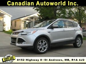 2014 Escape Titanium All Wheel Drive.