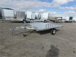 A8810 Aluma ATV Trailer -*- All-Inclusive 5 Year Warranty -*-