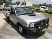 2009 Nissan Navara D22 MY08 DX (4x2) Silver 5 Speed Manual Cab Chassis Loganholme Logan Area Preview