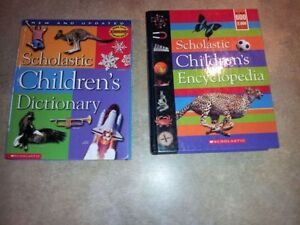 SCHOLASTIC CHILDRENS DICTIONARY AND ENCYCLOPEDIA