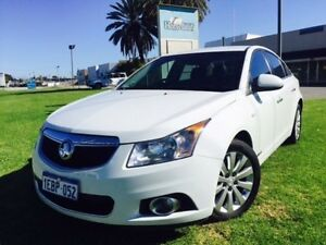 2012 Holden Cruze JH MY12 CDX White 6 Speed Automatic Sedan Maddington Gosnells Area Preview