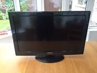 PANASONIC 32inch LCD TV - with card reader