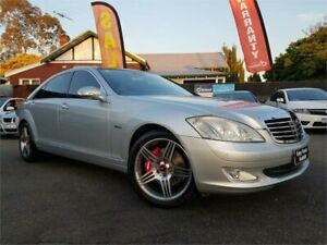 2006 Mercedes-Benz S350 221 L Silver 7 Speed Automatic G-Tronic Sedan Osborne Park Stirling Area Preview